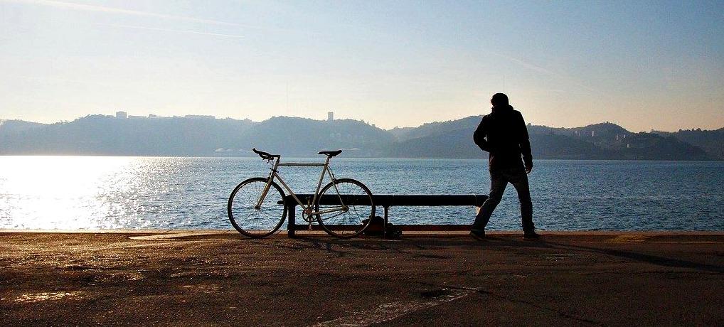 bicicleta puerto