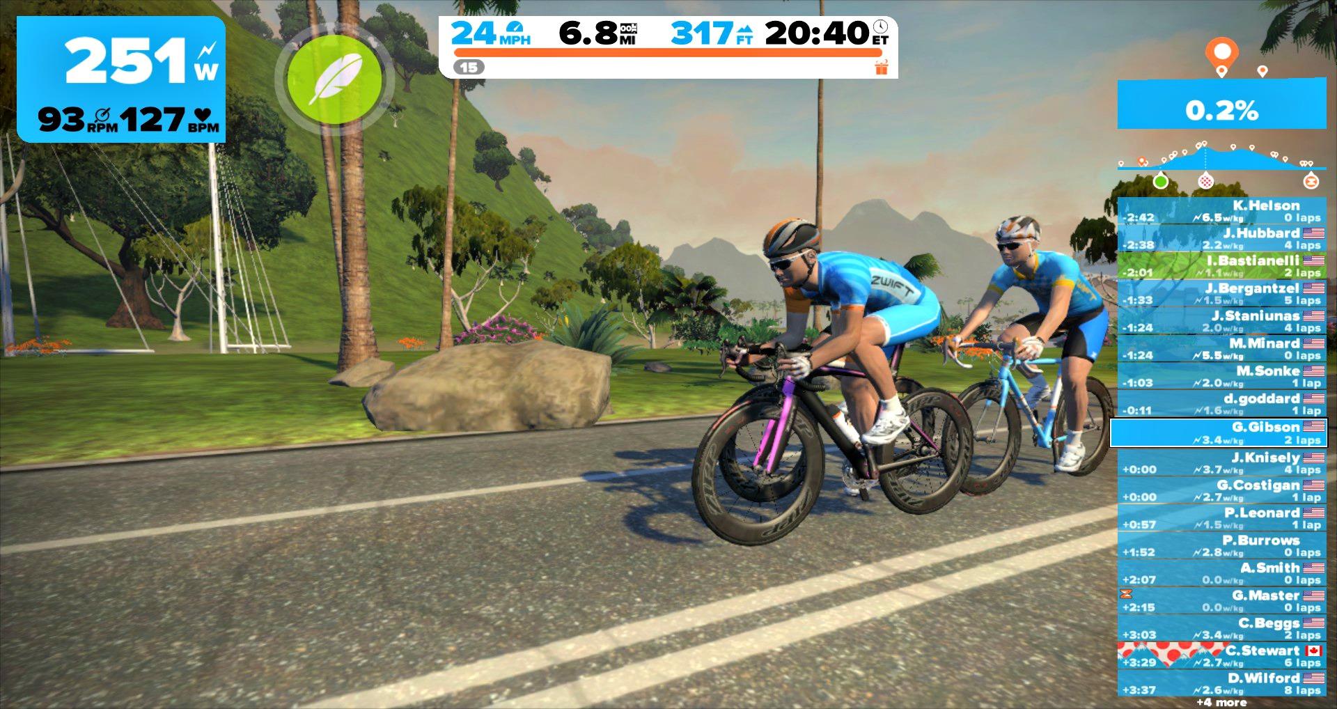 aplicaciones para entrenar ciclismo