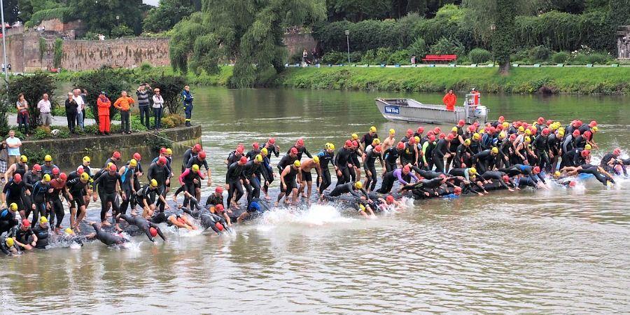 triatlón en río