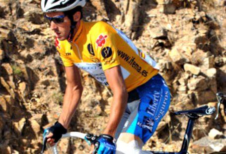 El ciclista español Roberto Heras