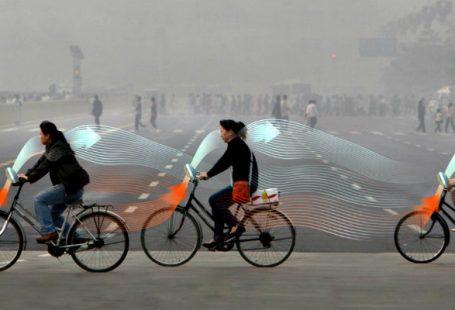 Bicicletas purificadoras de aire