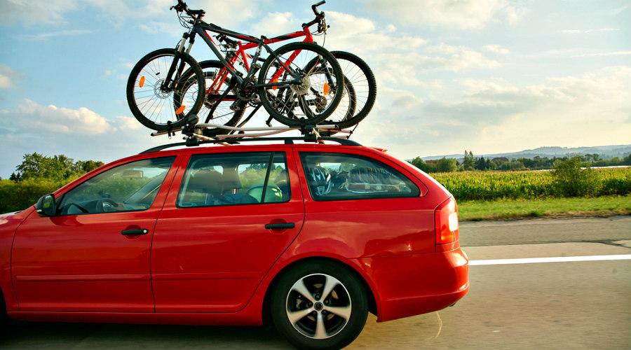 bicicletas en el coche