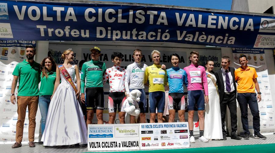 Ganadores Vuelta Valencia
