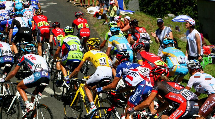 Etapa de montaña en el Tour de Francia