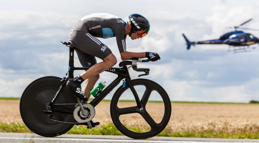 El ciclista Chris Froome