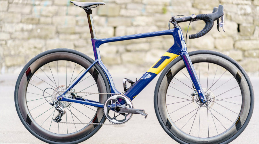 Bicicleta monoplato de carretera
