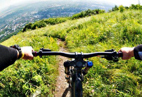 mountain bike view