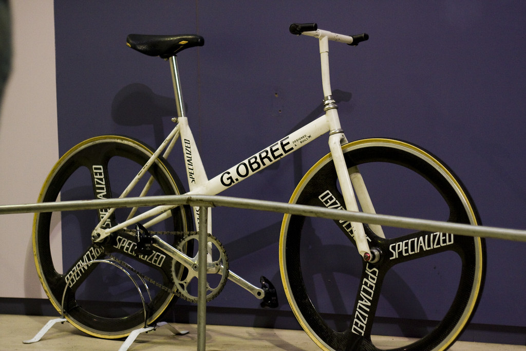 Graeme Obree's Old Faithfull bike
