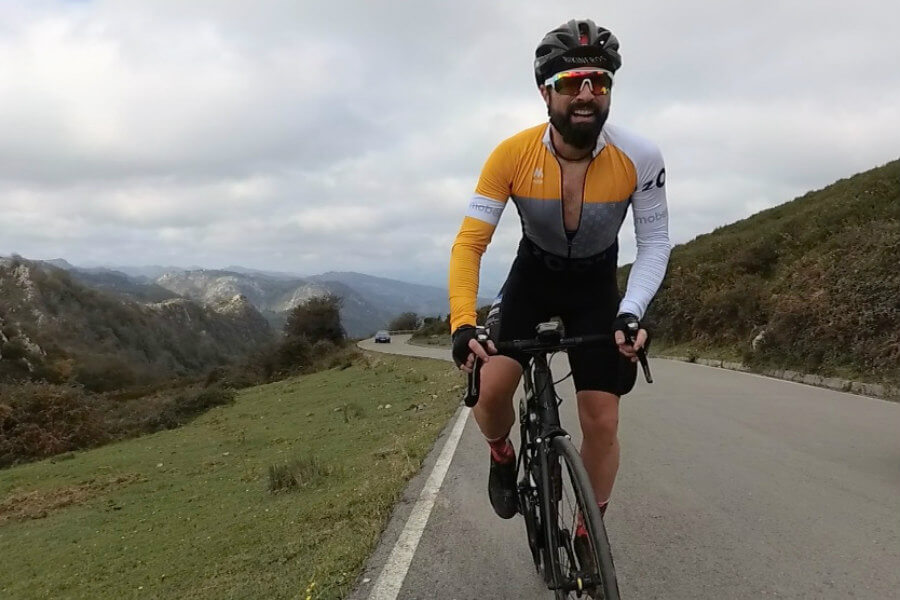 Edu Bikineros en Lagos de Covadonga