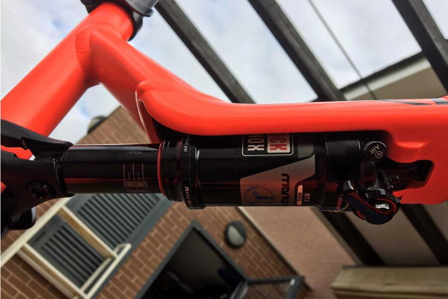 Amortiguador de bicicleta