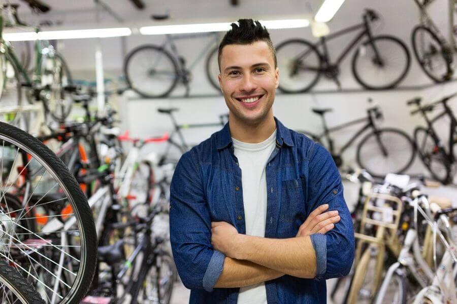 Vendedor de bicicletas