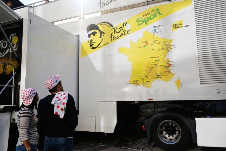 Camión del Tour de Francia